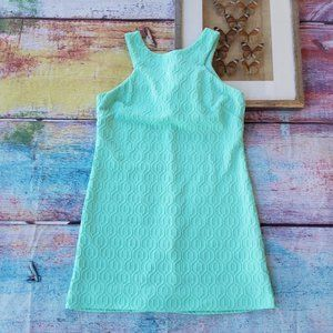 Lilly Pulitzer Mint Green Textured Knit Dress L